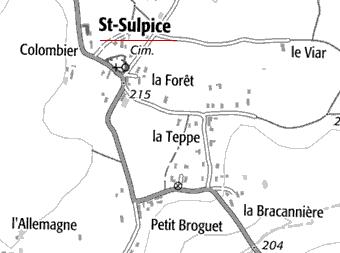 Domaine du Temple de Saint-Sulpice