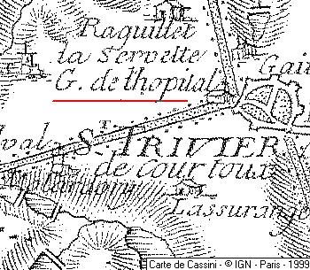 Domaine du Temple de Saint-Trivier-de-Courtes