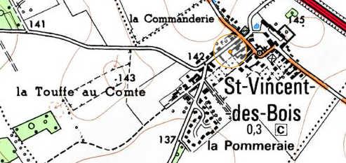 Domaine du Temple de Saint-Vincent-des-Bois