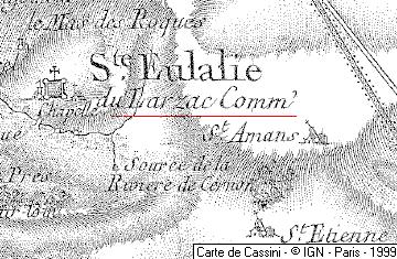 Maison du Temple de Sainte-Eulalie du Larzac
