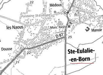 Maison du Temple de Sainte-Eulalie-en-Born
