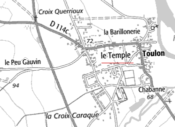 Maison du Temple de Salles-en-Toulon