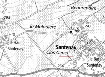 Domaine du Temple de Santenay