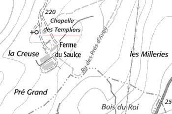 Maison du Temple Le Saulce d'Island