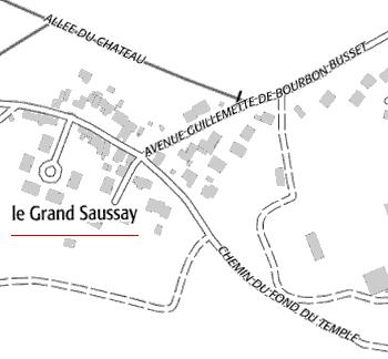 Maison du Temple de Saussay