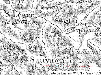 Maison du Temple de Sauvagnac