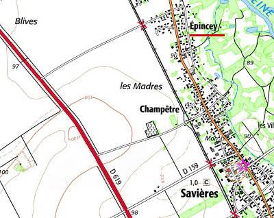 Les Moulins d'Espincey de nos jours Epincey