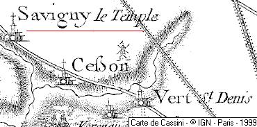 Maison du Temple de Savigny-le-Temple