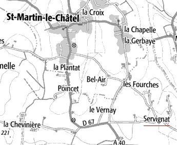 Domaine du Temple de Servignat