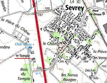 Maison du Temple de Sevrey