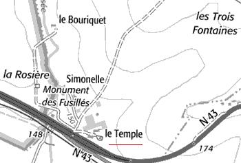 Maison du Temple de Simonelle, Simonet