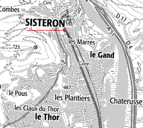 Maison du Temple de Sisteron