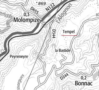 Domaine du Temple de Tempel