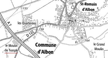 Le Temple d'Albon