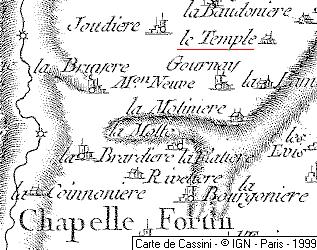 Temple de La Chaperonnière ou Temple-Bodart