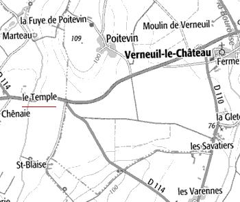 Le Temple de Courcoué