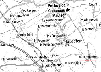 La Templerie d'Echaubrognes