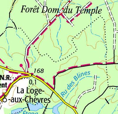 Temple Forêt du Temple