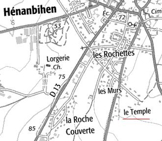 Domaine du Temple à Hénanbihen