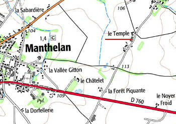 Le Temple de Manthelan