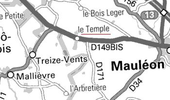 Maison du Temple de Mauléon