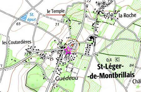 Temple de Saint-Léger-de-Montbrillais