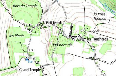 Domaine du Temple à Sommecaise
