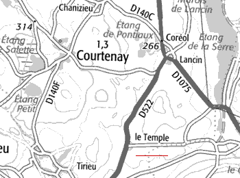 Le Temple de Courtenay