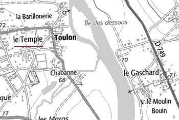 Domaine du Temple de Salles et Toulon