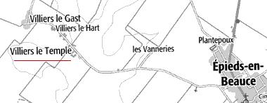 Domaine du Temple de Villiers-le-Temple