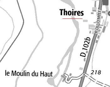 Domaine et moulin de Thoires