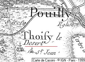 Seigneurie du Temple de Thoisy-le-Désert