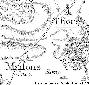 Maison du Temple de Thors