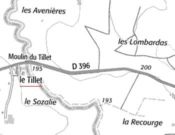Domaine du Temple à Tillet