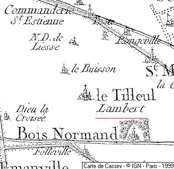 Domaine du Temple de Le Tilleul-Lambert