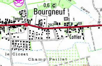 Domaine du Temple à Bourgneuf
