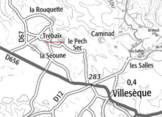 Domaine du Temple de Trébaïx et Casnac