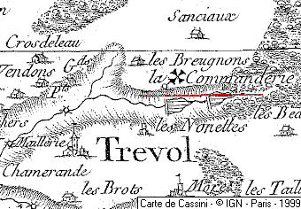 Biens de l'Hôpital à Trévol