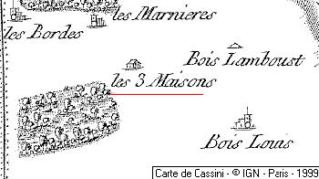 Domaine du Temple de Trois-Maisons