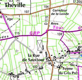 Domaine du Temple à Théville