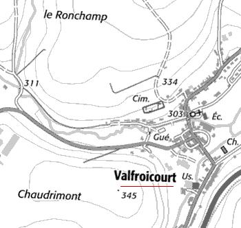 Maison du Temple de Valfroicourt