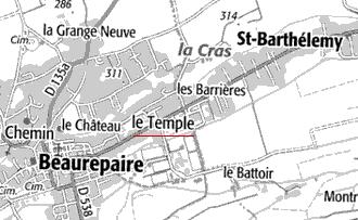 Maison du Temple de Valloire-Beaurepaire