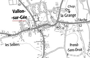 Domaine du Temple de Vallon-sur-Gée