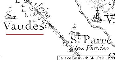 Domaine du Temple de Vaudes