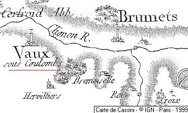 Domaine du Temple de Vaux-sous-Coulombs