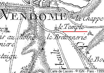 Maison du Temple de Vendôme