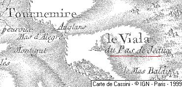Domaine du Temple de Viala-du-Pas-de-Jaux