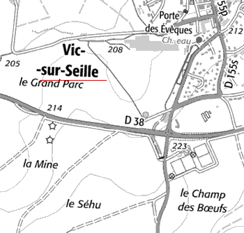 Maison du Temple de Vic-sur-Seille