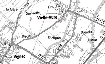 Localisation de Vielle-Aure