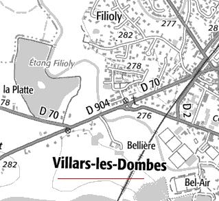 Domaine du Temple de Villars-les-Dombes